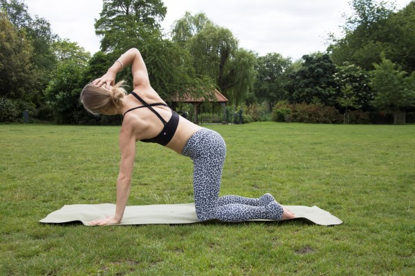 Yoga for the Thoracic Spine By Alice Louise Blunden